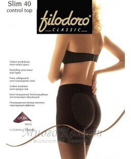 FILODORO Slim 40 control top
