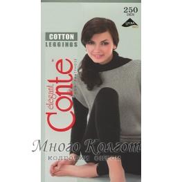 Хлопковые леггинсы Conte Cotton 250 den Leggings