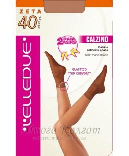 Elledue ZETA 40 носки ( 2 пары )